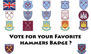 What's your Favourite Hammers Badge ? 1975-2021